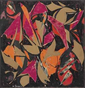 Lee Krasner-Bird Talk-1955
