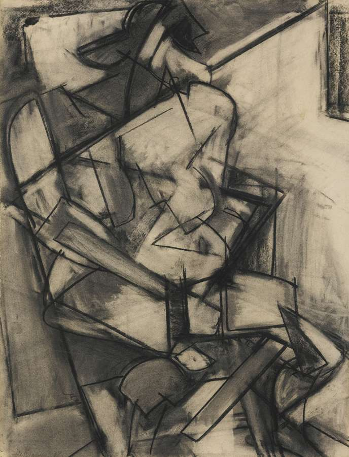 Lee Krasner-Nude Study From Life-1938