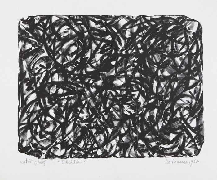 Lee Krasner-Obsidian-1962