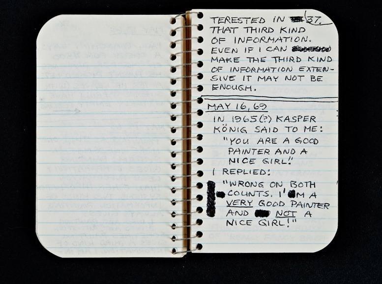 Lee Lozano - Private Notes