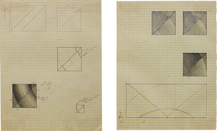 Lee Lozano-Two works: (i) Untitled (ii) Untitled-1967