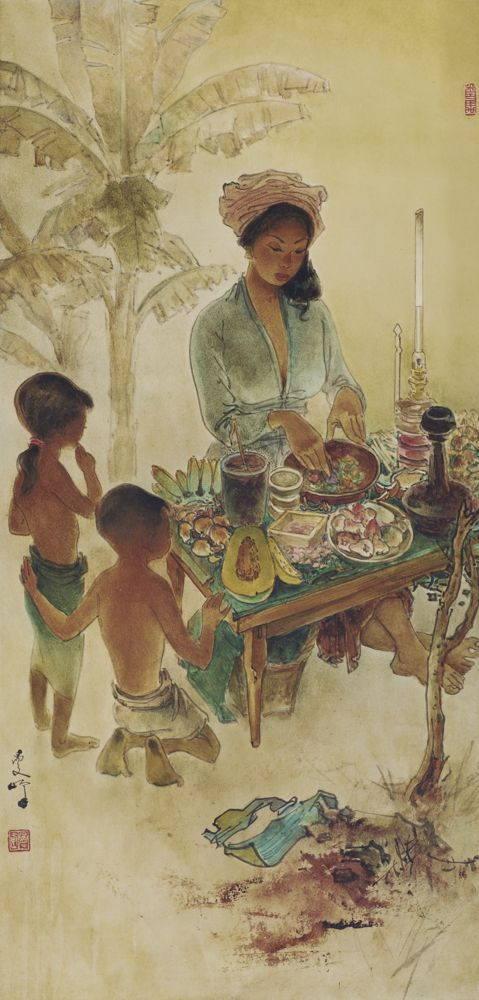 Lee Man Fong-Rojak Seller-