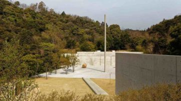 Lee Ufan Museum at Naoshima Island, Japan
