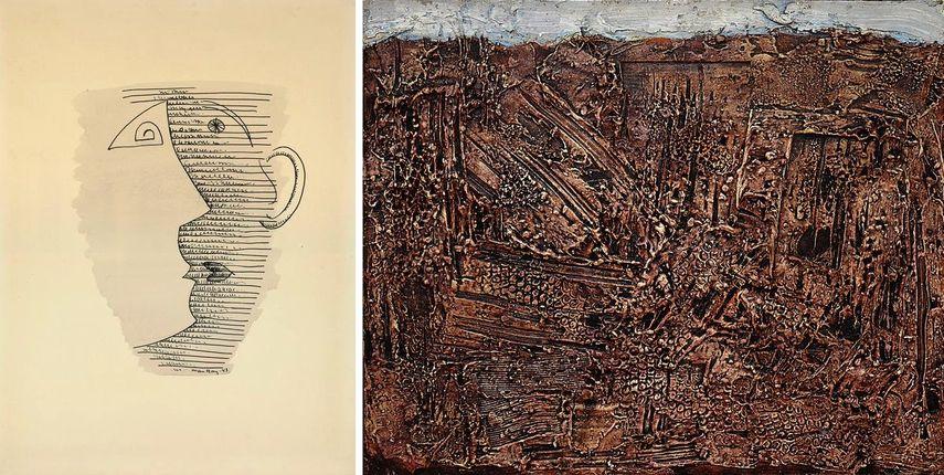 Man Ray, Jean Dubuffet