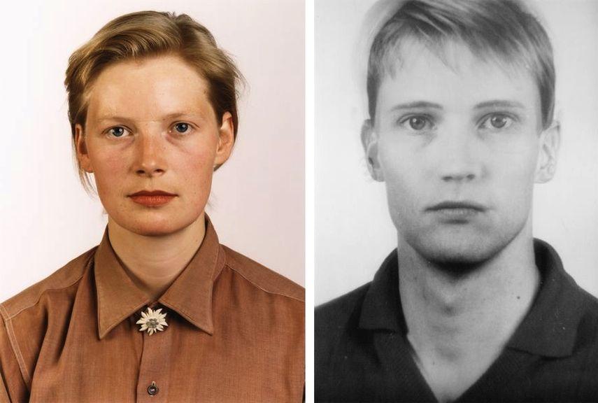 Porträt (P Stadtbäumer), 1988, anderes Porträt Nr. 109/55 (other Portrait Nr. 109/55), 1994/5