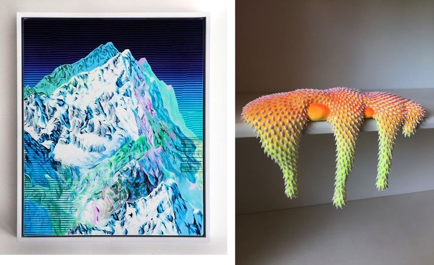 Adam Friedman - Walking Mountain, Dan Lam - Mirroring