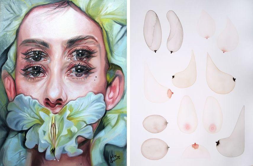 Alex Garant - Silent Garden, Audrey Bodisco - Untitled