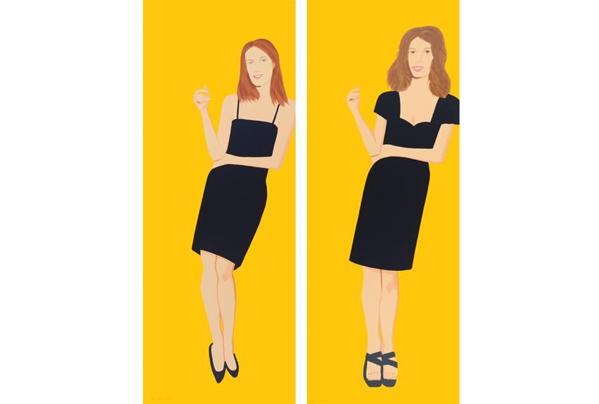 Alex Katz edition of portrait prints offer celebration of colors. prints