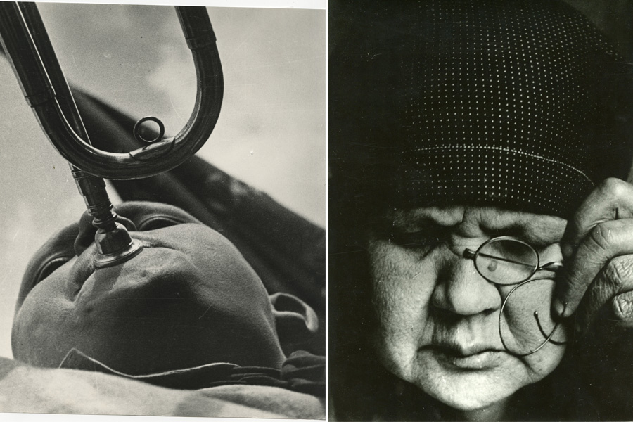 Pioneer with the horn, 1924, Portrait of Mother, 1924