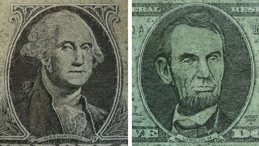 Left Alexi Torres - Washington, 2014, Right Alexi Torres - Abraham Lincoln, 2014