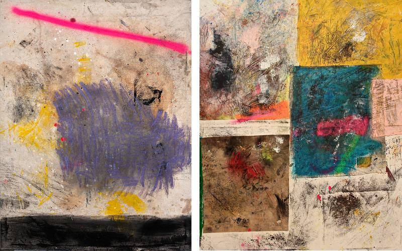 Left Alfredo Scaroina - Untitled, 2014, Right Alfredo Scaroina - Untitled 2, 2014