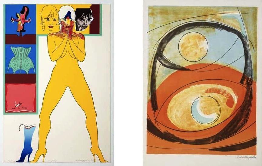 Allen Jones - Pour les Levres, 1965, Barbara Hepworth - Genesis, 1969
