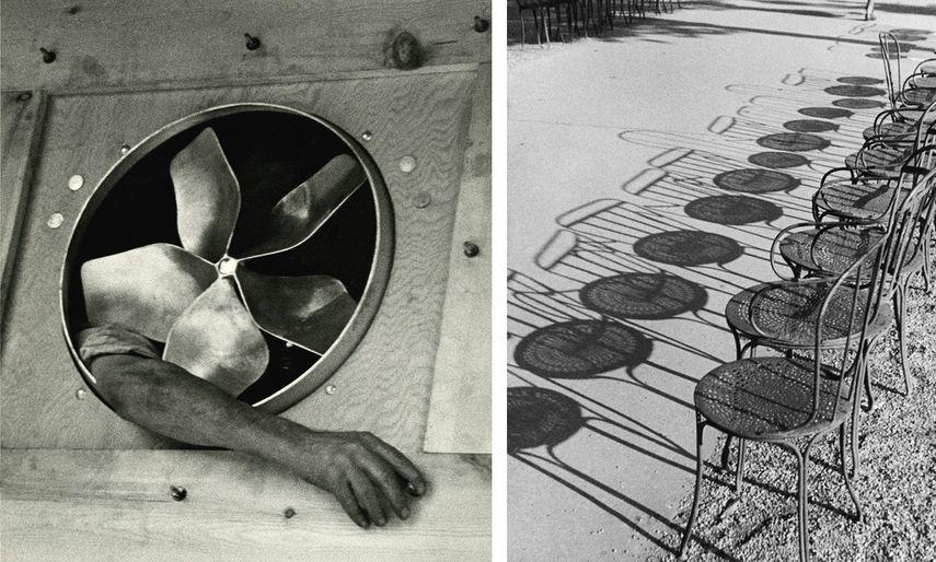 André Kertész (born in Budapest, 1894-1985) -Bras et ventilateur André Kertész - Champs Elysees Paris