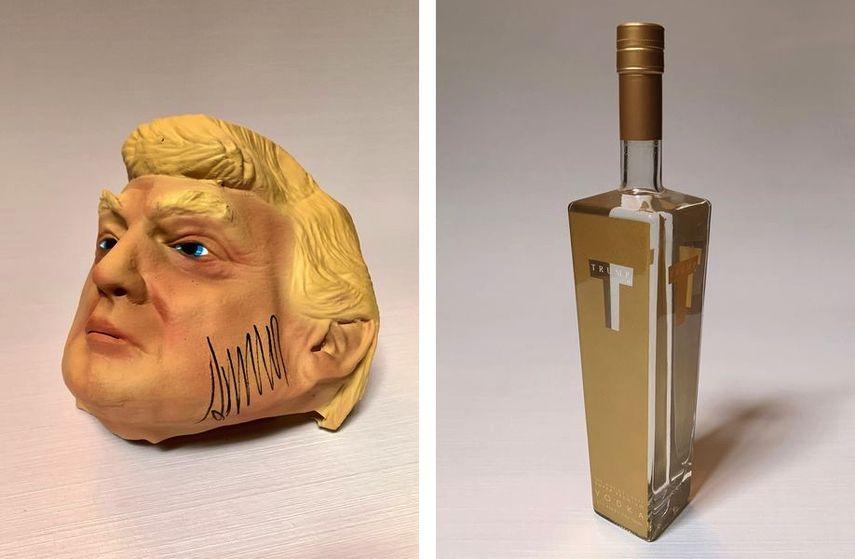 Andres Serrano - Mask, Andres Serrano - Vodka