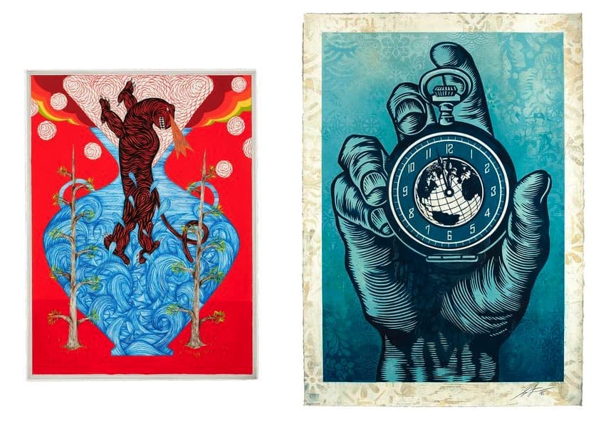 Andrew Schoultz, Shepard Fairey - 11th Hour