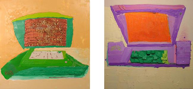Left - Andrzej Zielinski - 4 dolars, 2005, Right - Andrzej Zielinski - 5 percent, 2005, photo credits - artist