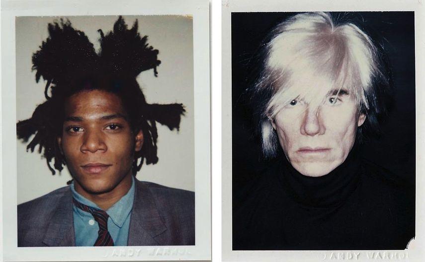 Andy Warhol - Portrait Polaroid, Andy Warhol - Self Portrait Polaroid