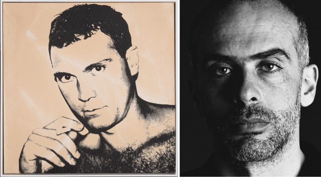 Left Andy Warhol - Sandro Chia Right Timothy Greenfield-Sanders - Francesco Clemente