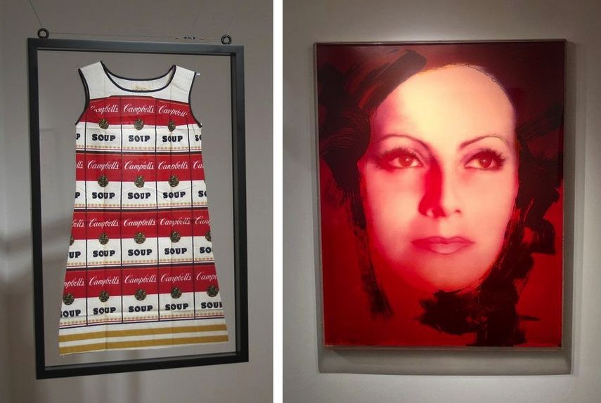 Andy Warhol - Souper Dress, 1965, Rupert Jasen Smith - Greta Garbo