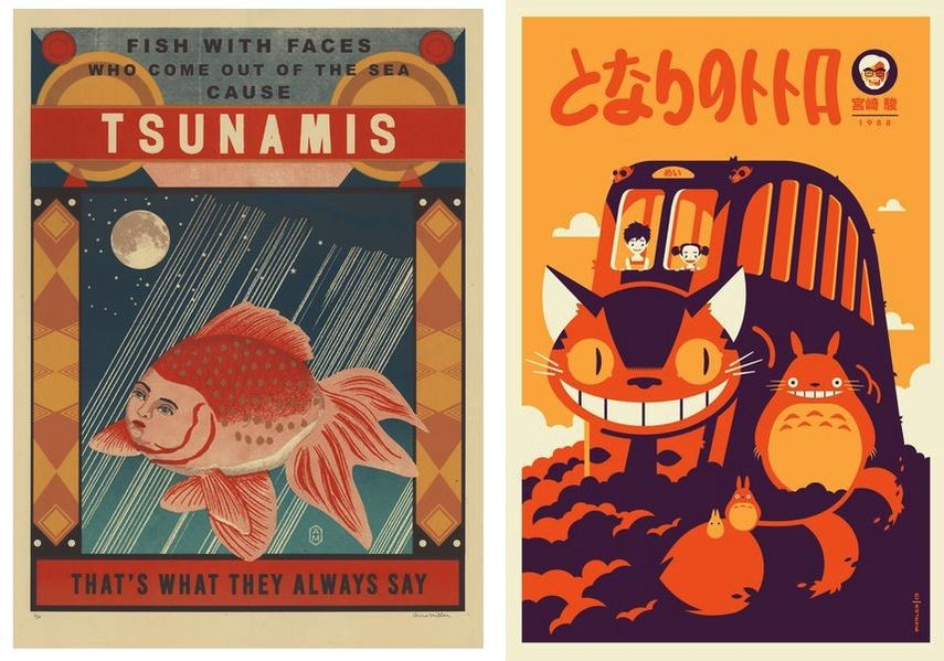 Arna Miller - They Cause Tsunamis, Tom Whalen - Totoro