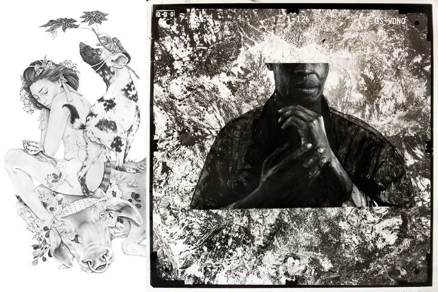 Left Artwork by Nicomi Turner Right Artwork by Ricky Gordon