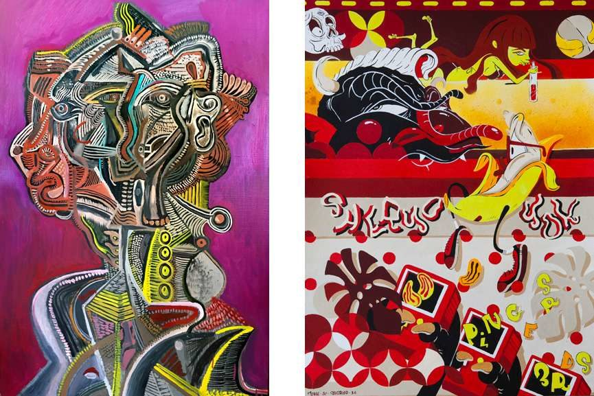 Left Artwork by Sheryo and The Yok Right Artwork by Zio Ziegler