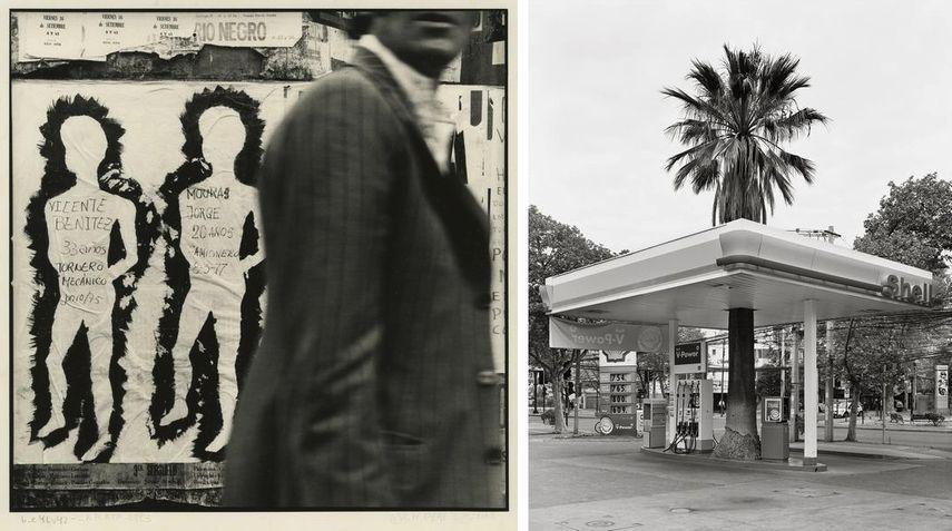 Ataulfo Perez Aznar - Desaparecidos, Calle 6 entre 46 y 47, La Plata, 1983, Sebastian Mejía, Quasi oasis 17, Av. Simón Bolivar, Santiago, 2012