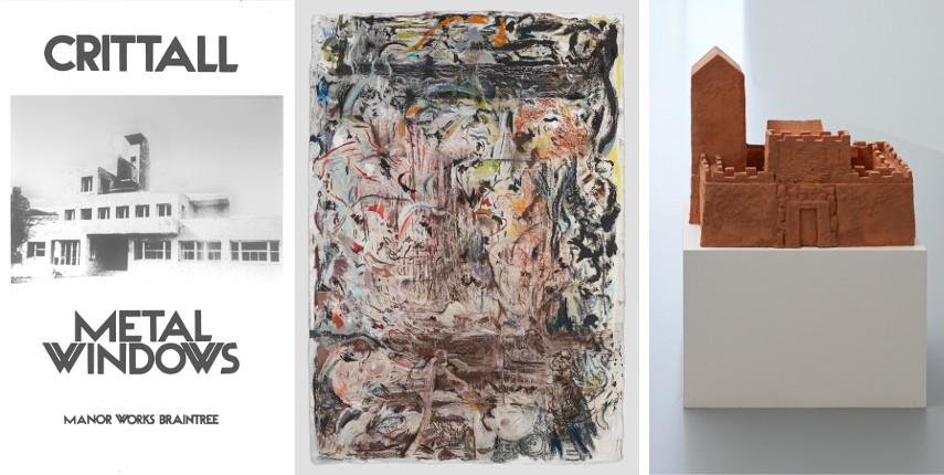 Barbara Bloom - Crittall Metal Windows, 1972 / Cecily Brown - Untitled, 2015 / Peter Wächtler - Untitled (Castle), 2017