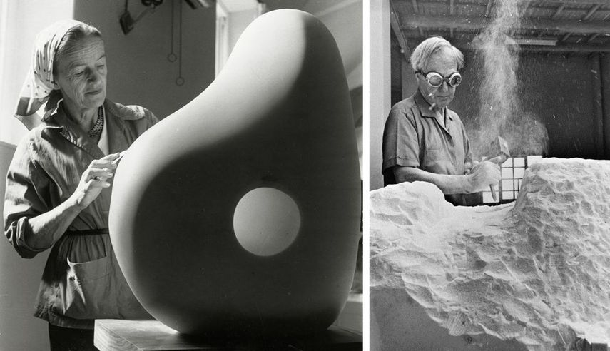 artists working with white soapstone