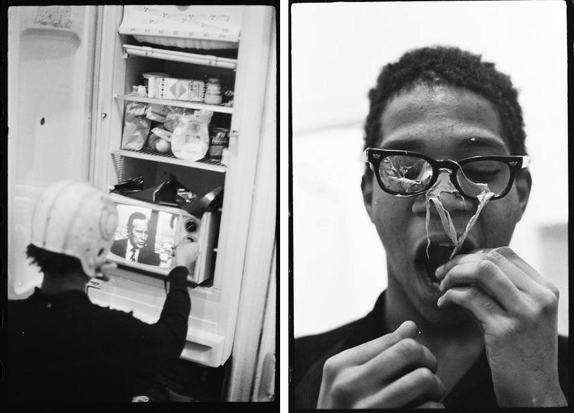 Basquiat performing in the apartment, c. 1979–1980, Basquiat performing in the apartment, c. 1979–1980