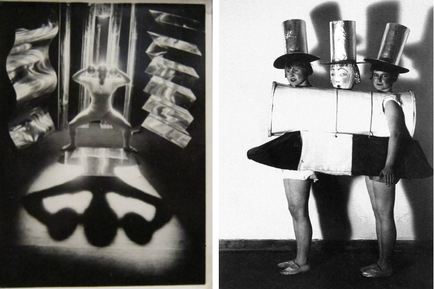 moholy nagy and rohe introduced designed arts, crafts and bauhaus building to the modern world in 1933 and 1925