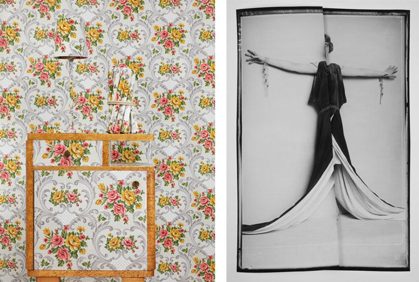 Left: Benjamin Eichhorn - In Deckung II, 2013 © Courtesy of the artist and bäckerstrasse4, Vienna, Austria / Right: Caroline Heider - WW-204170 (Schlepp), 2016 © Courtesy of unttld contemporary