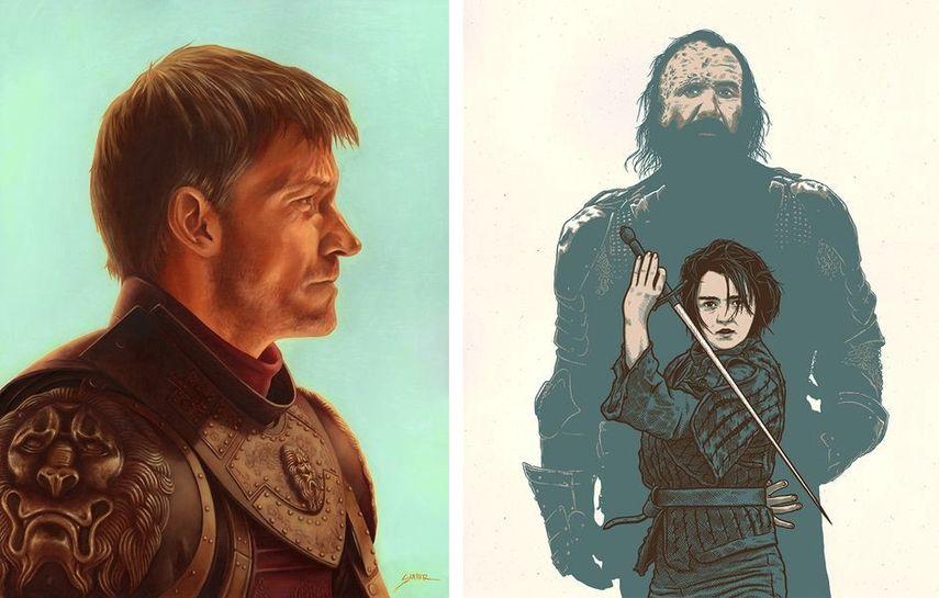 Bennett Slater - The Lion in Winter, Dan Grissom - Arya and the Hound