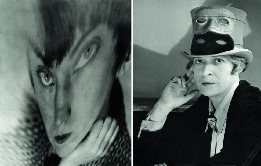 Left Berenice Abbott - Self Portrait Right Berenice Abbott - Janet Flanner in Paris