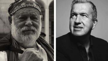 Bruce Weber, Mario Testino