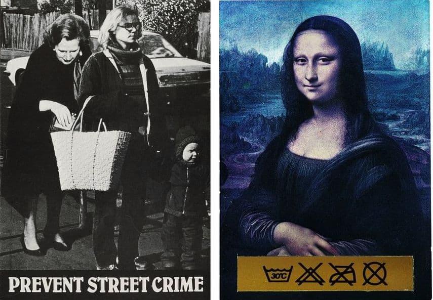 Cath Tate, Prevent Street Crime, 1982, Tim Head - Untitled, c. 1985