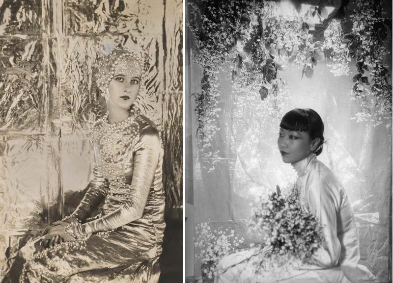 Left Cecil Beaton - Baba Beaton as Heloise Right Cecil Beaton - Anna May Wong
