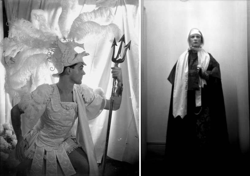 Left Cecil Beaton - Oliver Messel Right Cecil Beaton - George Dadie Rylands