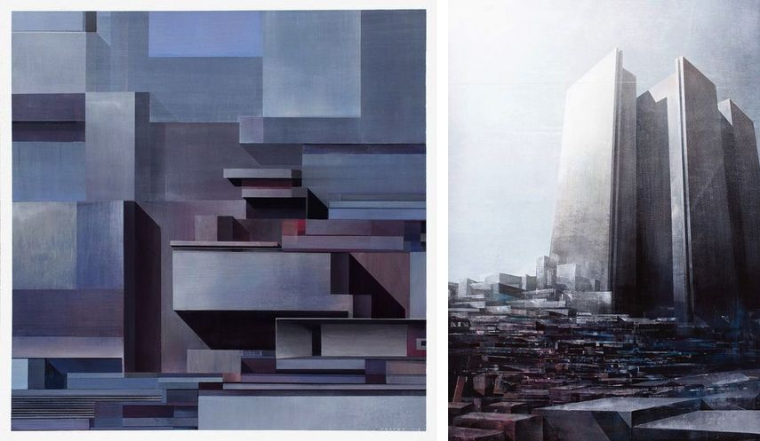 Chazme - Concrete Contrasts 2, 2016, Chazme - The Man in High Castle