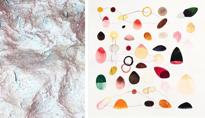 Christiane Peschek - LD_2, 2016, Irmina Stas - Untitled, 2017