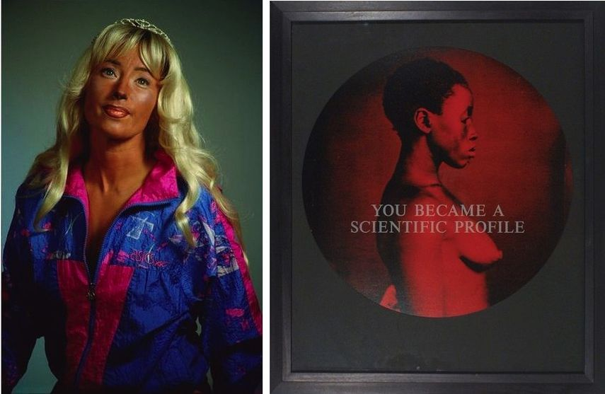 Cindy Sherman – Untitled #397, 2000, Carrie Mae Weems - From Here I Saw What Happened and I Cried, 1995; art