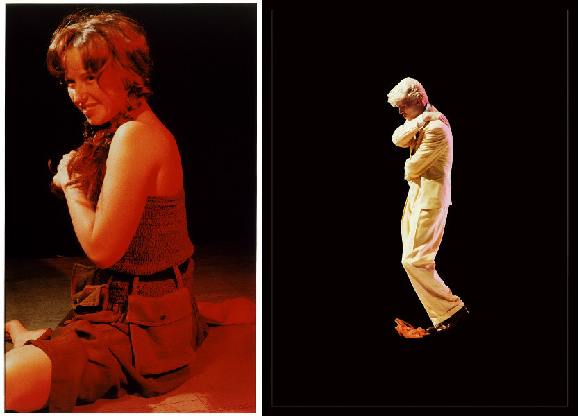 Cindy Sherman - Untitled #121, 1983 / Sarah Charlesworth- Golden Boy, 1983-84