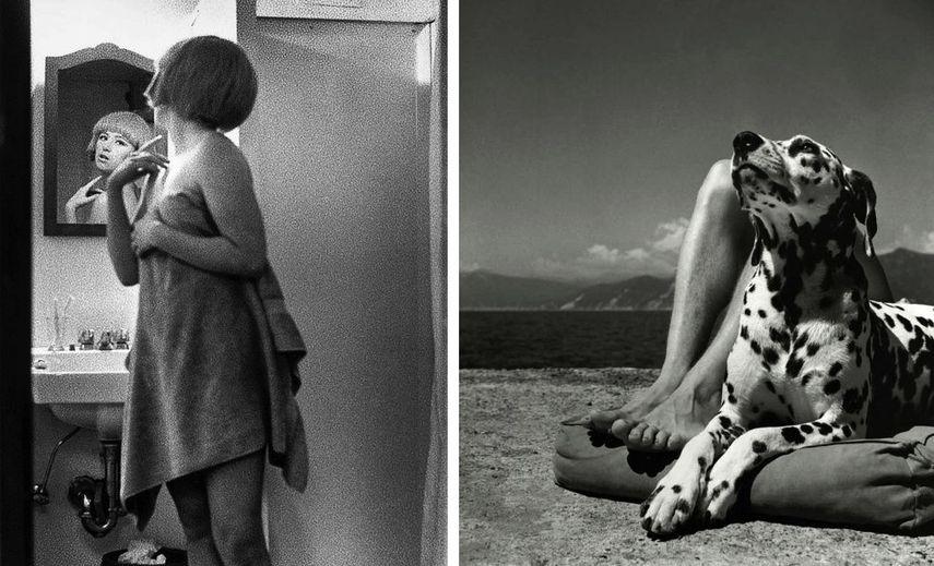 Cindy Sherman - Untitled Film Still #2, 1977, Herbert List - Herr und Hund, Portofino, 1936