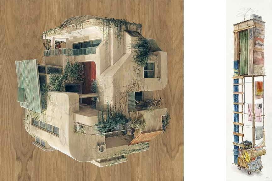 Left Cinta Vidal - Old Neighborhood Right Alvaro Naddeo - Jupiter, 513