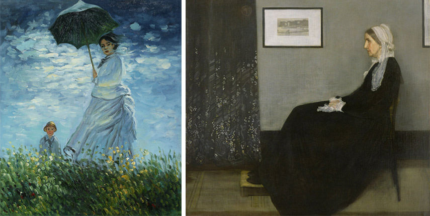 What is the definition of value in art can be seen through these examples of paintings