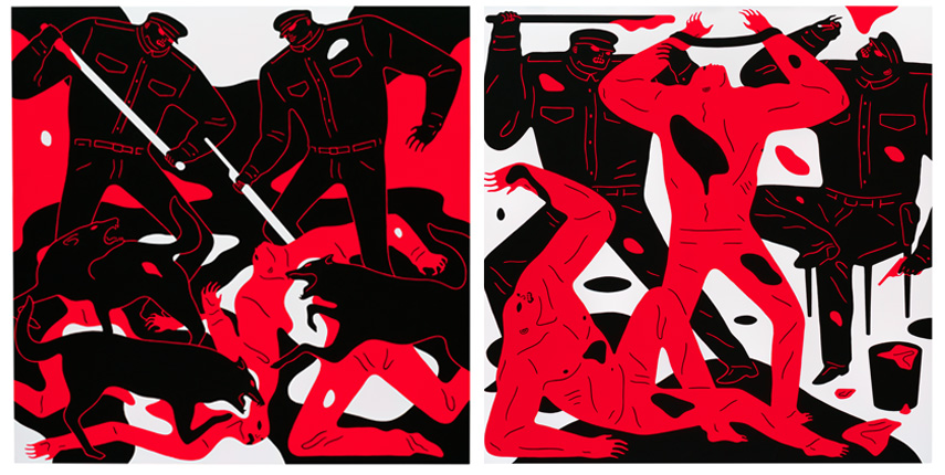 Left Cleon Peterson - Out for Blood Right Cleon Peterson - To Find the Truth
