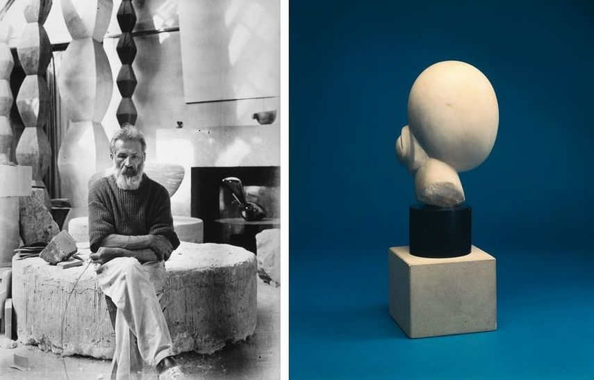 constantin brancusi is one of the famous abstract sculptor in art history. his abstract pieces influenced many to re-think the idea what sculpture can be.