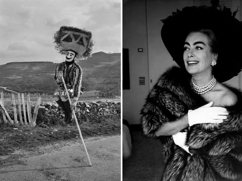 Left Cristina Garcia - El botiero Right Eve Arnold - Joan Crawford