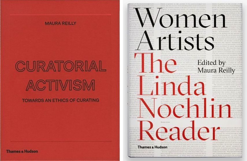 Curatorial Activism, Women Artists: The Linda Nochlin Reader; books and essays exploring female artist exhibitions and efforts