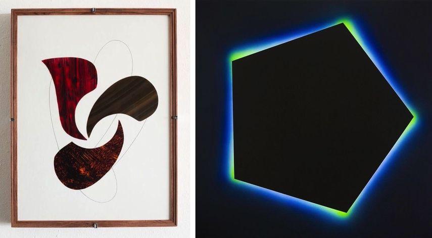 Darío Escobar - Golpeadores de guitarras at Galeria Leyendecker, José María Yturralde - A la Divina Proporción at Galería Javier López Fer Francés at edition 2019
